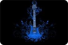 Custom Gibson Les Paul puerta Esterillas Gibson Les Paul Guitarras puerta Esterillas música Esterillas s divertido baño Alfombras niños roma Cojines # d-025 #
