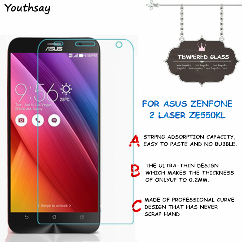 Youthsay Store For Glass Asus Zenfone 2 Laser ZE550KL Tempered Glass For Screen Protector Asus Zenfone 2 Laser ZE550KL Glass ZE550KL Youthsay
