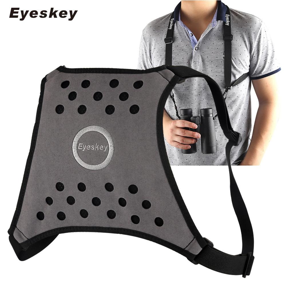 Eyeskey 4-stranski nastavljiv trak pasu daljnogleda - odličen za daljnoglede, fotoaparate in daljnoglede