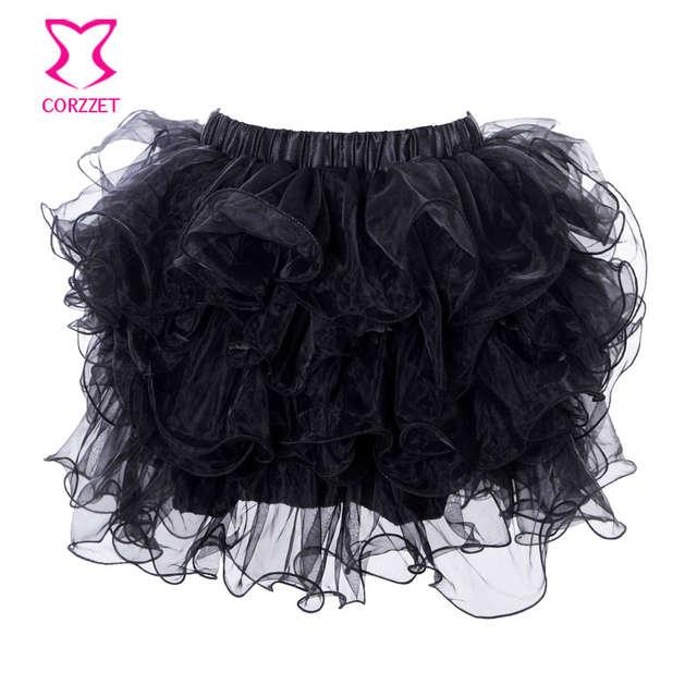 8ec3b0f3b1 Punk Gold Tube Beads Stud Soutien Gorge Push Up Bra Bustier Skirt Set Crop  Top Brassiere