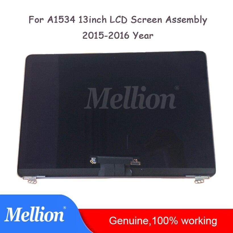 A1534 écran LCD d'ordinateur portable assemblée pour MacBook Retina 12 ''2015 an Original nouveau A1534 ordinateur portable LCD affichage assemblée