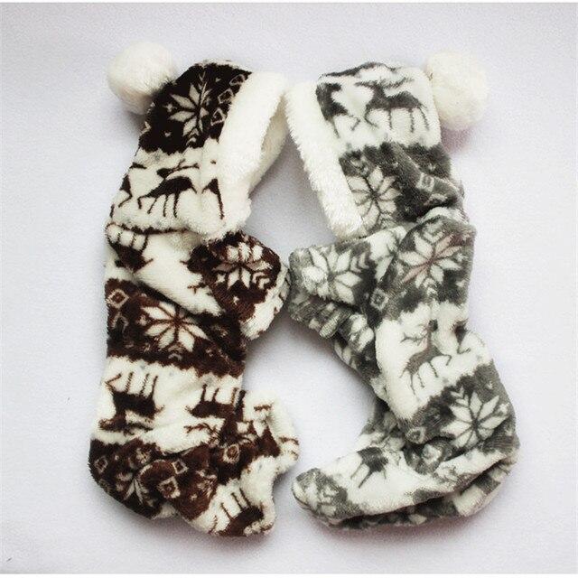 Il Nuovo Autunno E Inverno Fiocco di Neve Morbido Pile Vestiti Del Cane Da Compa