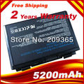 Laptop Battery for Asus F52 K501 K50AB K50ID-X1 K51AB K61IC-A1 K70IJ P50IJ X5C X66 X70, Free shipping