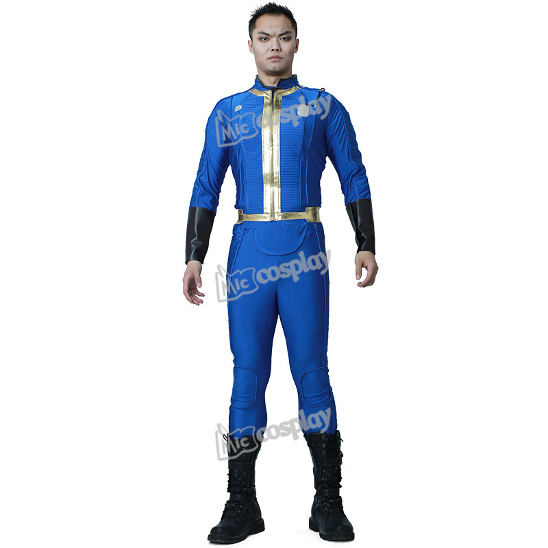 Nate Cosplay Costume Male Sole Survivor Halloween Party Men Clothing