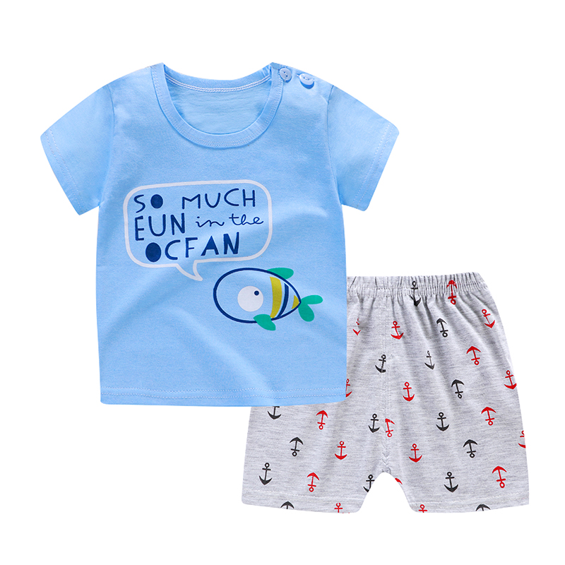 Fly Fishing Toddler Baby Girl Boy Romper Jumpsuit Outfit Short Sleeved Bodysuit Tops Clothes