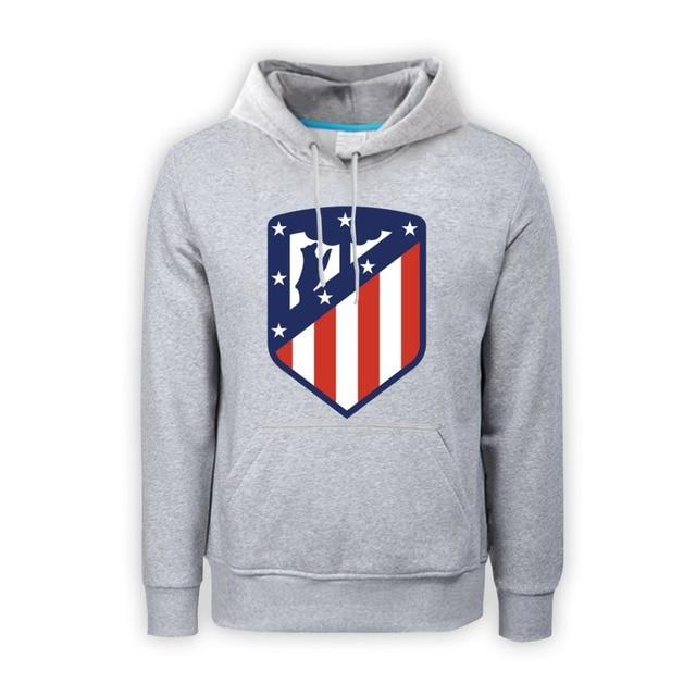 b171ddfd57ce4 Atlético de madrid sudadera hombres Sudadera con capucha moda sudaderas  ropa Atlético madrid sudaderas chicos Hoody
