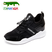MOZOEYU 2018 Summer New Styles Designs Comfortable Walking Shoes Women Female Breathalbe Slip On Sneakers Sock Shoe