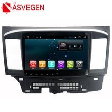Asvegen Android 7.1 Car Radio GPS For Mitsubishi Lancer Autoradio Navigation Head Unit Bluetooth Multimedia Player 2GB+32GB android 8 1 ram 4gb rom 32gb no dvd car gps navigation nead unit for mitsubishi lancer lancer x galant fortis 2007 2017 evo 10