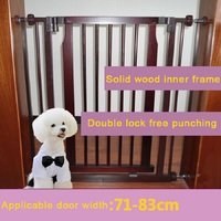 Solid Wood Stair Guardrail Child Safety Door Guardrail Gate Pet Saidsgroupsdirector Guardrail Isolation Fence