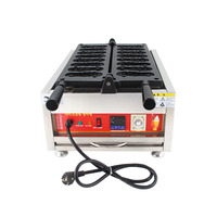 Non Stick Lion Shape Cake Waffle Machine; 8pcs Stainless Steel Electric Waffle Maker Iron Baker Oven