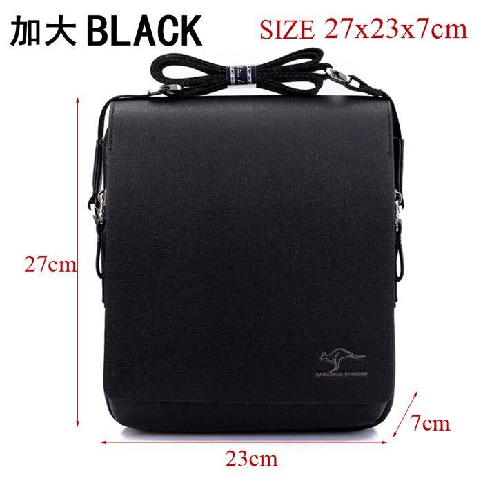 Size 27x23x7cm Black