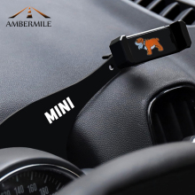 AMBERMILE Car Mobile Phone Holder Bracket Auto Mount Stand Interior Accessories for BMW Mini Cooper R56 R55 Clubman Car Styling