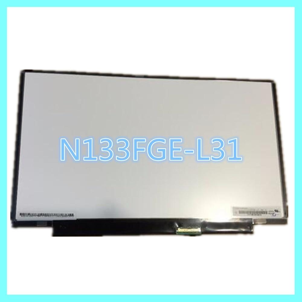 ФОТО 100%working Gread A+  13.3 LCD LED PANEL LAPTOP SCREEN N133FGE-L31
