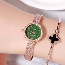 2018 New Fashion Luxury Retro Alloy Watchband Female Watch Colorful Multicolored Wrist Watch College Style Fashion