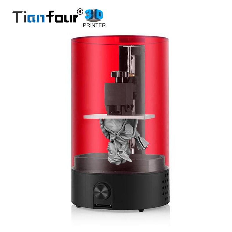 Sparkmaker УФ отверждения SLA/DLP/ЖК дисплей 3d принтер для печати объем 98 мм * 55 мм * 125 мм ваш первый 3d Impresora для ювелирных изделий стоматологии модели