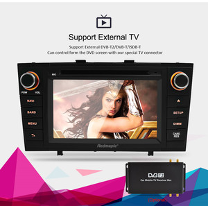 """Image 3 - 7"""" Android 10.0 Car Stereo Radio For Toyota T27 Avensis 2009 2014 2 Din DVD GPS Navigation Wifi FM DAB+Headunit Bluetooth 4G RAM"""