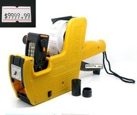 New MX 5500 Pricing Price Labeler Tag Tagging Paper Gun Shop Equipments Tool Yellow