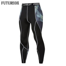 Skinny Leggings FLASH 3D Printed Pattern Compression Tights Pants Men 2018 New Arrival Sweatpants crossfit Fitness Trousers Male(China)