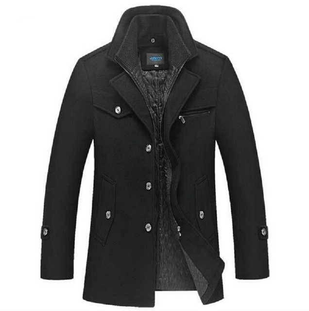 Inverno Homens Casaco De L 227 Slim Fit Mens Jaqueta Moda