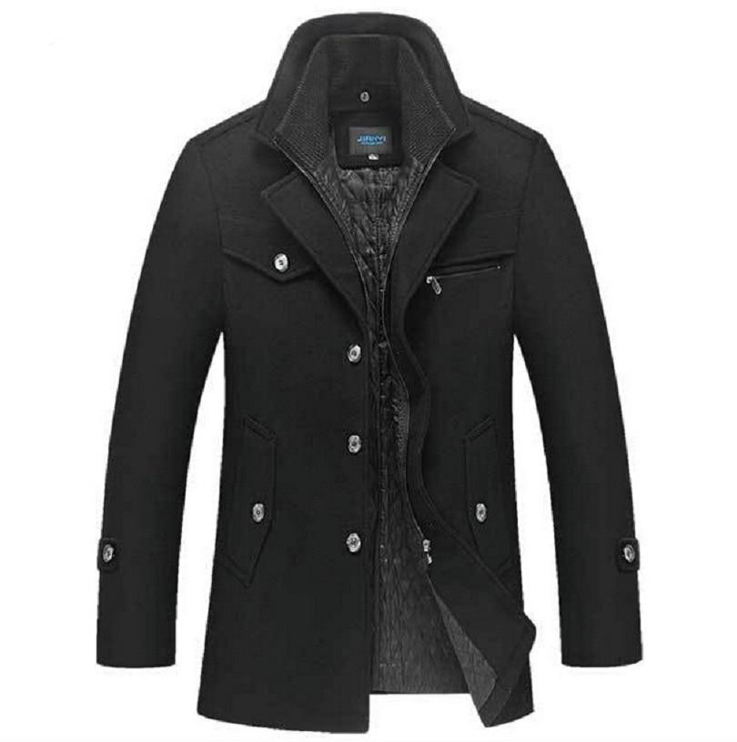 सर्दियों ऊन कोट पुरुषों - पुरुषों के कपड़े