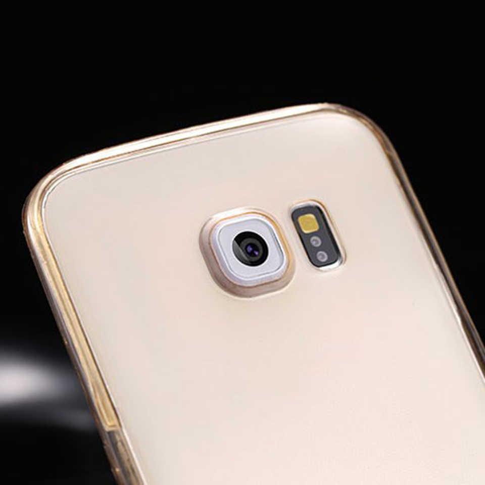 360 Transparent Full Case For Samsung A3 A5 A7 J3 J5 J7 2016 2017 A6 A8 Plus 2018 A10 A30 A40 A50 Phone Cases Silicone TPU Cover