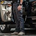 IX9 pantalones Cargo Pantalones casuales Pantalones de los hombres de Combate táctico SWAT Ejército Militar activo trabajo Algodón hombres Pantalones para hombre