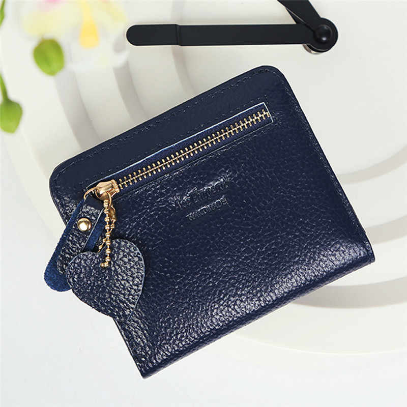 New Small Designer Slim Women Wallet Thin Zipper Ladies PU Leather Coin Purses Female Purse Mini Clutch Cheap Womens Wallets