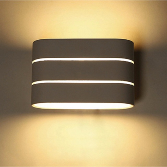 buy excelvan 5w led bedside lamp wall mount hotel lighting up down wall light. Black Bedroom Furniture Sets. Home Design Ideas