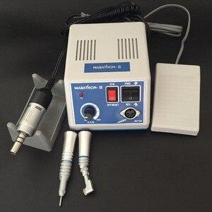 Image 1 - مختبر الأسنان E TYPE محرك صغري البولندية قبضة مع زاوية كونترا ومستقيمة قبضة SMT ماراثون N3 + محرك كهربائي