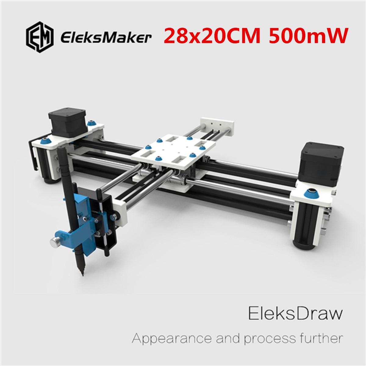 EleksMaker EleksDraw 500mW Mini XY 2 Axis CNC DIY Laser Drawing Machine kam xy laser rbp