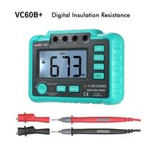 VC60B 1000 В мегомметровый тестер изоляции Мегаомметр ом тестер insInsulation сопротивление тестер метров мультиметр такой же, как UT501