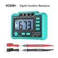 VC60B 1000 В измеритель изоляции megohmmeter ом тестер insInsulation сопротивление измерительные приборы мультиметр такой же, как UT501