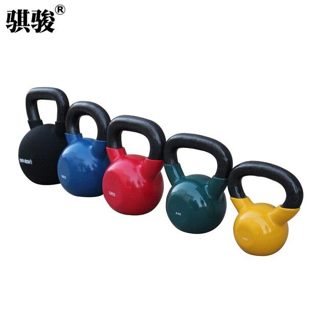 professionele fitnessapparatuur business zet de pot dumbbell kleurprofessionele fitnessapparatuur business zet de pot dumbbell kleur dip kettlebell gym barbell