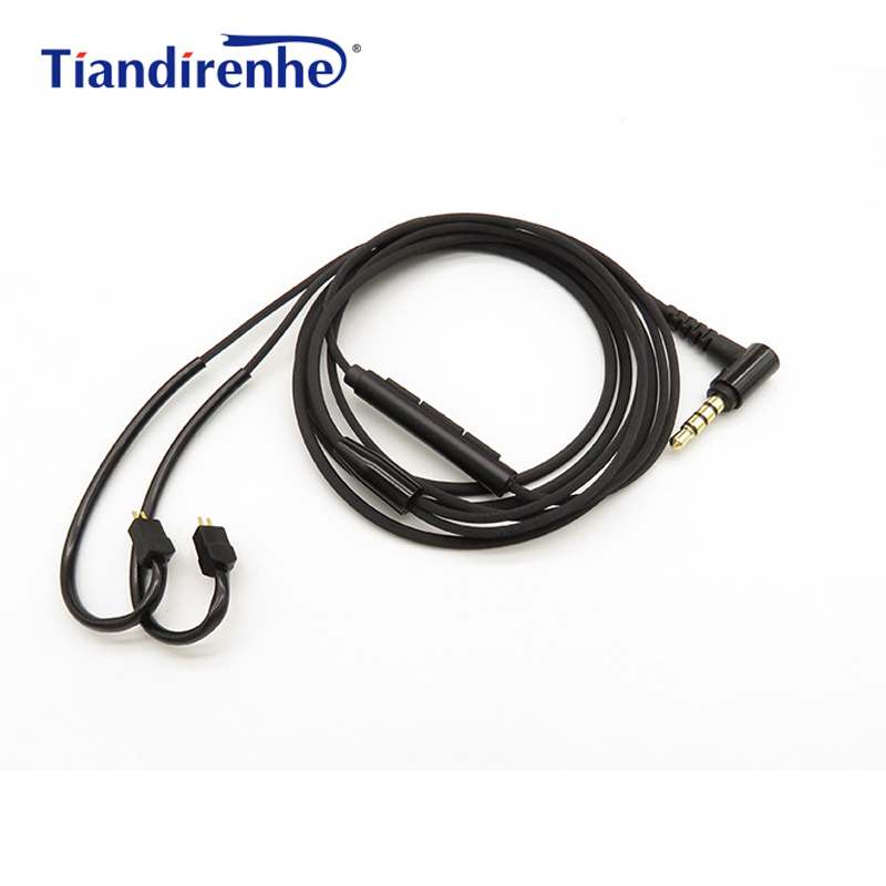 0.78mm 2 pin Replacement Cable for Logitech UE TF10 TF15 5pro SF3 Earphones Upgraded Headset Cables for Android IOS MP3 PC