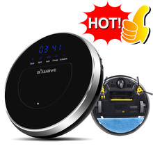 AWAVE Z8 Smart Vacuum Cleaners Automatic Sweeping Robots Wet and Dry Clean Remote control Self Charge 400ML Large Water Tank