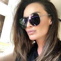 Winla Rimless Sunglasses Women Fashion Sunglasses Female Mirror Glasses Women Brand Designer Goggles Sun Glasses Alloy Legs