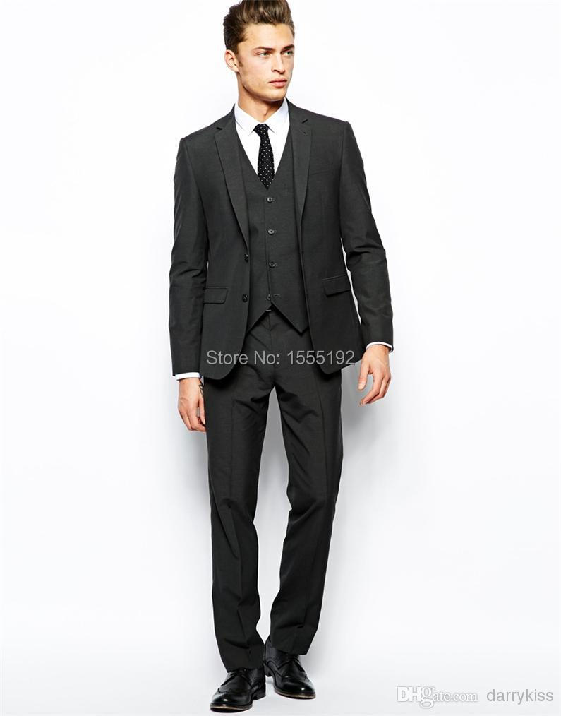 Get the best prom tuxedos and prom suits from Perfect Tux. Prom suits for men. Prom trends and styles including fashionable tuxedos, blazers, suits, shirts, vests and more. White Tuxedo Slim Fit with Black Shawl Lapel - Wedding. Men's white slim fit tuxedo with black shawl lapel. This fashionable tuxedo is made of a luxurious r.