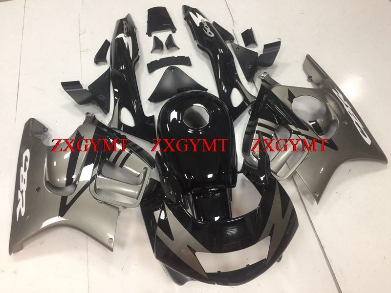 Abs Fairing for CBR 600 F3 1995 - 1998 Abs Fairing CBR600F3 95 96 Black Silver Fairings for Honda Cbr600 1998Abs Fairing for CBR 600 F3 1995 - 1998 Abs Fairing CBR600F3 95 96 Black Silver Fairings for Honda Cbr600 1998