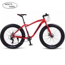 wolf's fang Bicycle Mountain Bike Road Fat bike bikes Speed 26 inch 8 speed