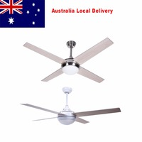 52inch Ceiling Fans With Lights Solid Wood Ceiling Fan Light with Remote for Indoor Bedroom Living Room abanicos de madera