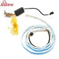1Pcs RGB Car Tail Turn Signals Rear Lights LED Strips Car Braking Light Day Running Lights