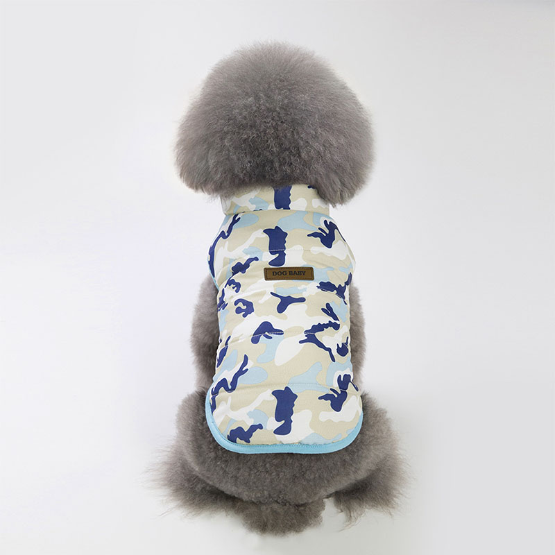 Home & Garden Pet Clothing Small Dog Cat Outfits Sport Camouflage Cat Padded Vest Puppy Dog Winter Jacket Down Coat Kitty Clothes Keep Warm