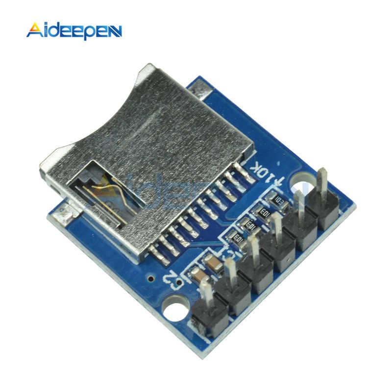 1 шт. плата запоминающего устройства Micro SD Плата расширения мини Micro SD TF карта памяти Щит Модуль с контактами для Arduino AVR ARM