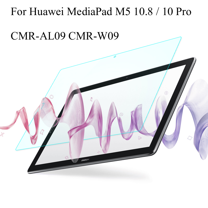 Tempered Glass membrane For Huawei MediaPad M5 10.8 CMR-AL09 CMR-W09 Steel film Tablet Screen Protection Toughened