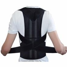 Men Magnetic Posture Corrector Orthopedic Back Support Belt