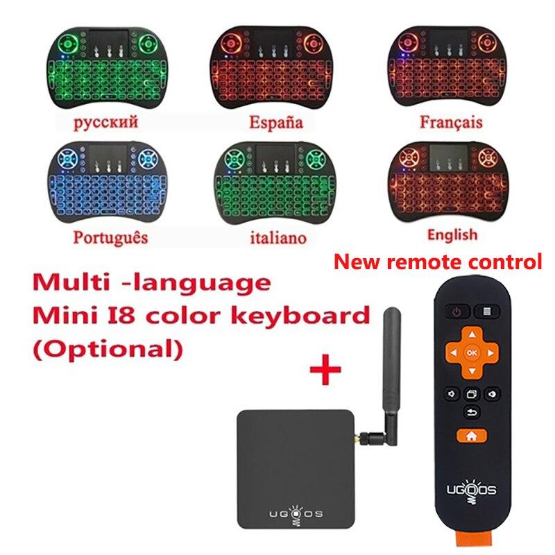 UGOOS AM3 Smart TV Box Amlogic S912 VP9 H.265 UHD 4 k 2 gb/16 gb Mini PC WiFi e LAN DLNA Miracast HD Media Player Android 7.1