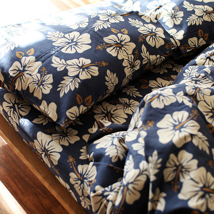 100% Cotton High Quality Duvet Cover Set Without Comforter Japan Style Floral Reactive Printing Bedding Sets Sanding Vintage