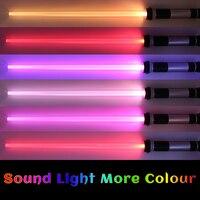 2pcs Set Star Wars Light Sword Saber Lightsaber Cosplay Props Kids Double Light Hobbies Action Figures