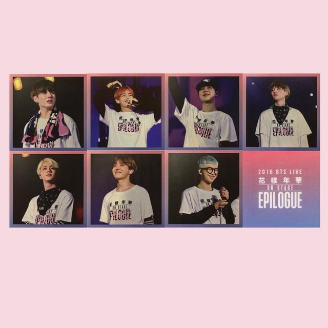 BTS Concert Live Photo Cards (7Pcs)