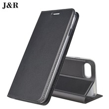 Фотография J&R Flip Case For iPhone 7 Plus Leather Cover For Apple iPhone 7 Plus 5.5 inch Wallet Book Style Protective Phone Bags&Cases New